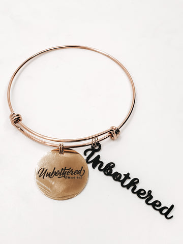 Unbothered Charm Bangle
