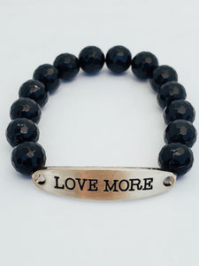 Love More Stacked Bracelet