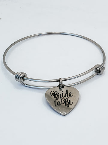 Bride to Be Charm Bangle