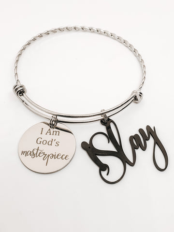 ISlay Masterpiece Charm Bangle