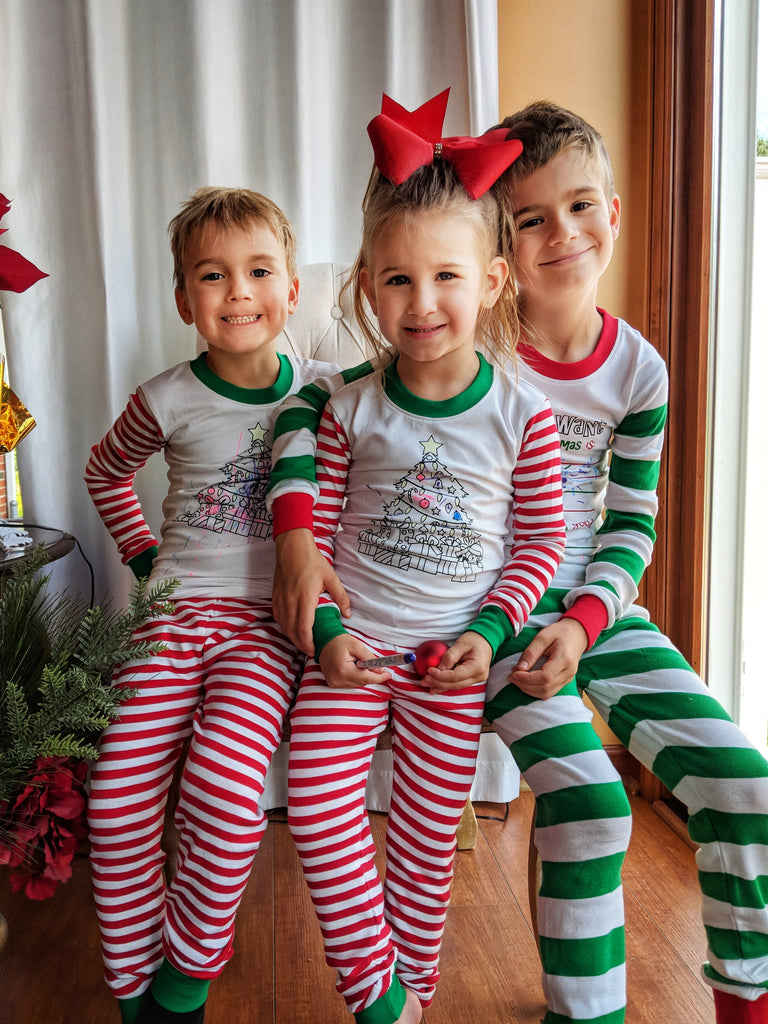 ColorMe PJ's-Oh Christmas Tree