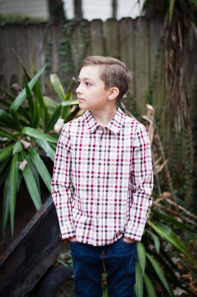 "Boys ""Give Thanks"" Dress Shirt"