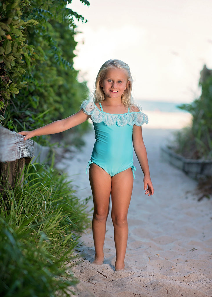 Mermaid Dance One Piece Swimsuit