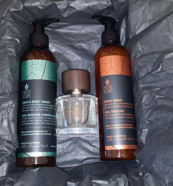 Gift package 11 - for men - Pacific Scents