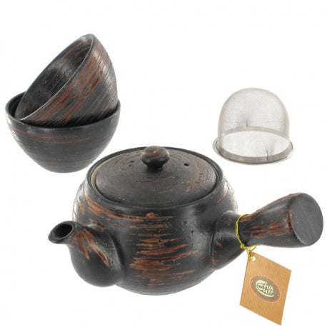 Tea set Fuji Earth
