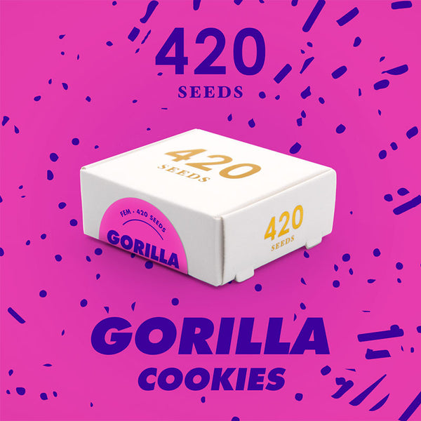 Gorilla Cookies - 420 Seeds