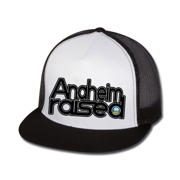 Anaheim Raised Flat Bill Trucker Hat