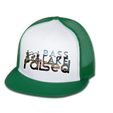 Bass Lake Raised Flat Bill Trucker Hat