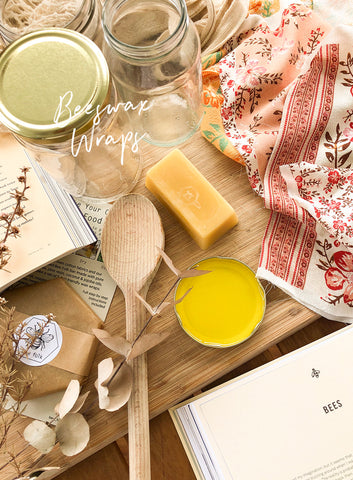 DIY: BEESWAX WRAPS