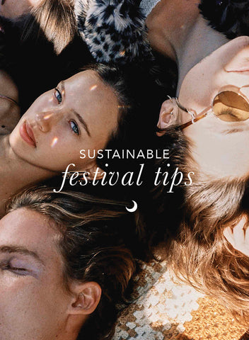Top 5 Tips - how to be Sustainable at Festivals