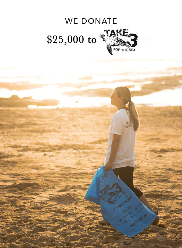 $25K Donation to Take 3 For The Sea