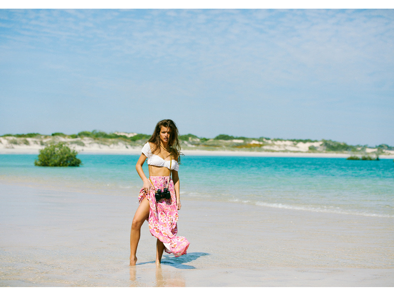 Forget Me Not the new sustainable fashion campaign shot at Cape Leveque, WA