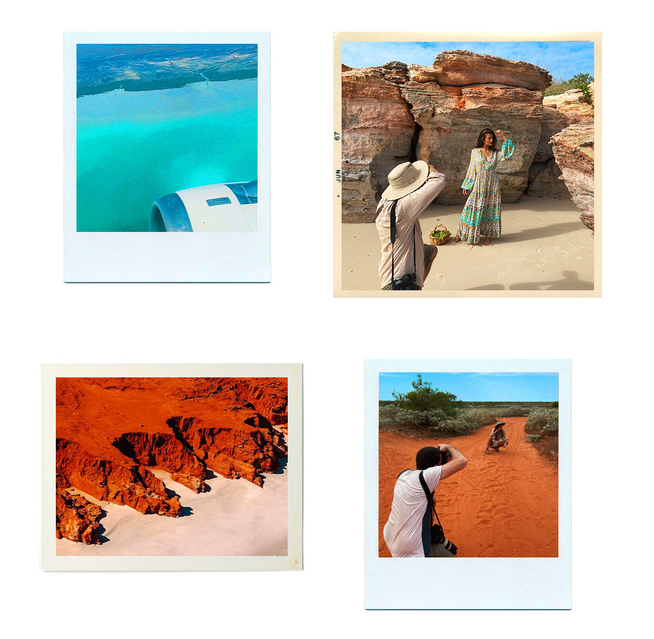 The Arnhem Team travelled to Cape Leveque in WA to shoot the Forget Me Not Campaign