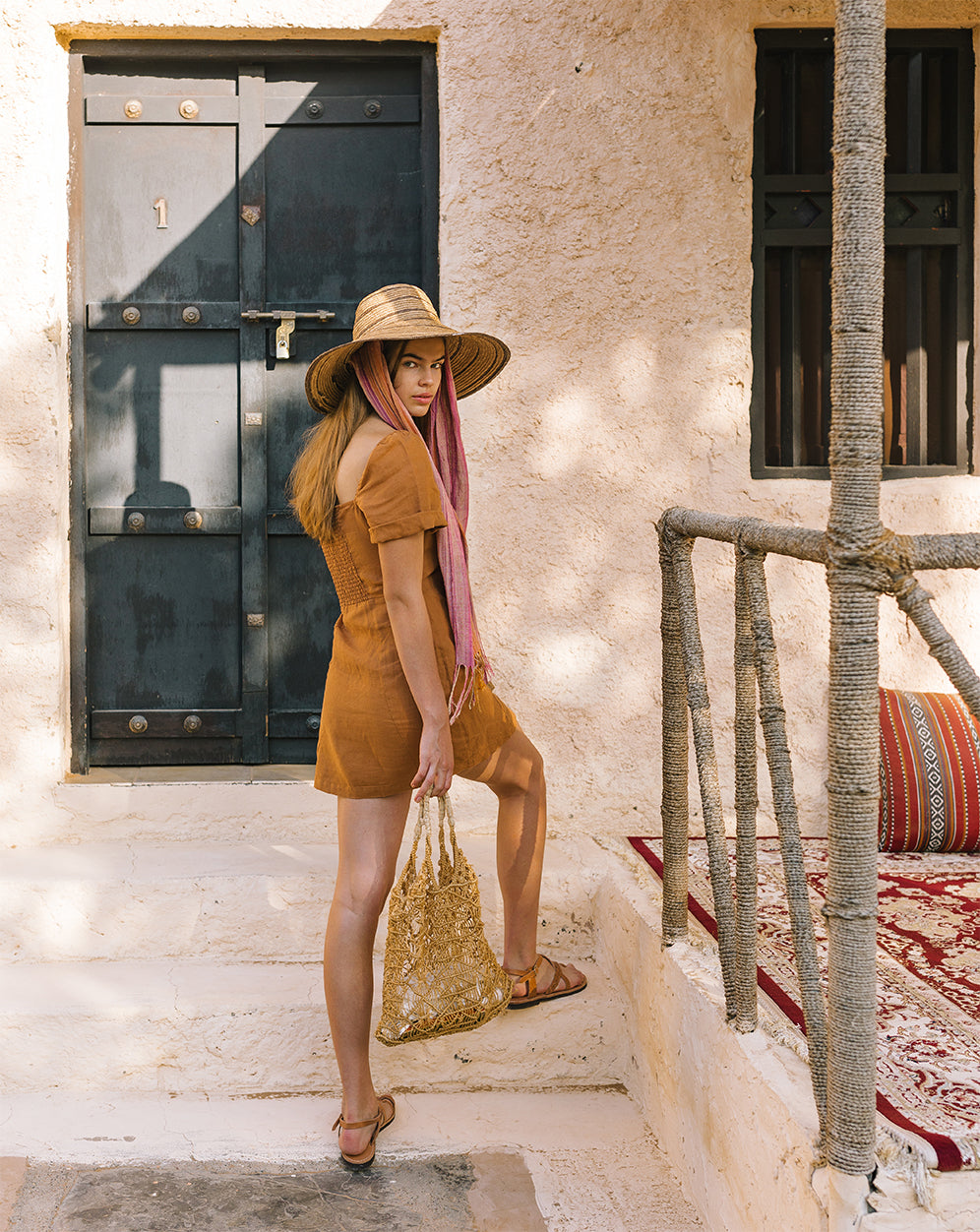 linen made from flax natural breathable dresses by Arnhem Byron bay