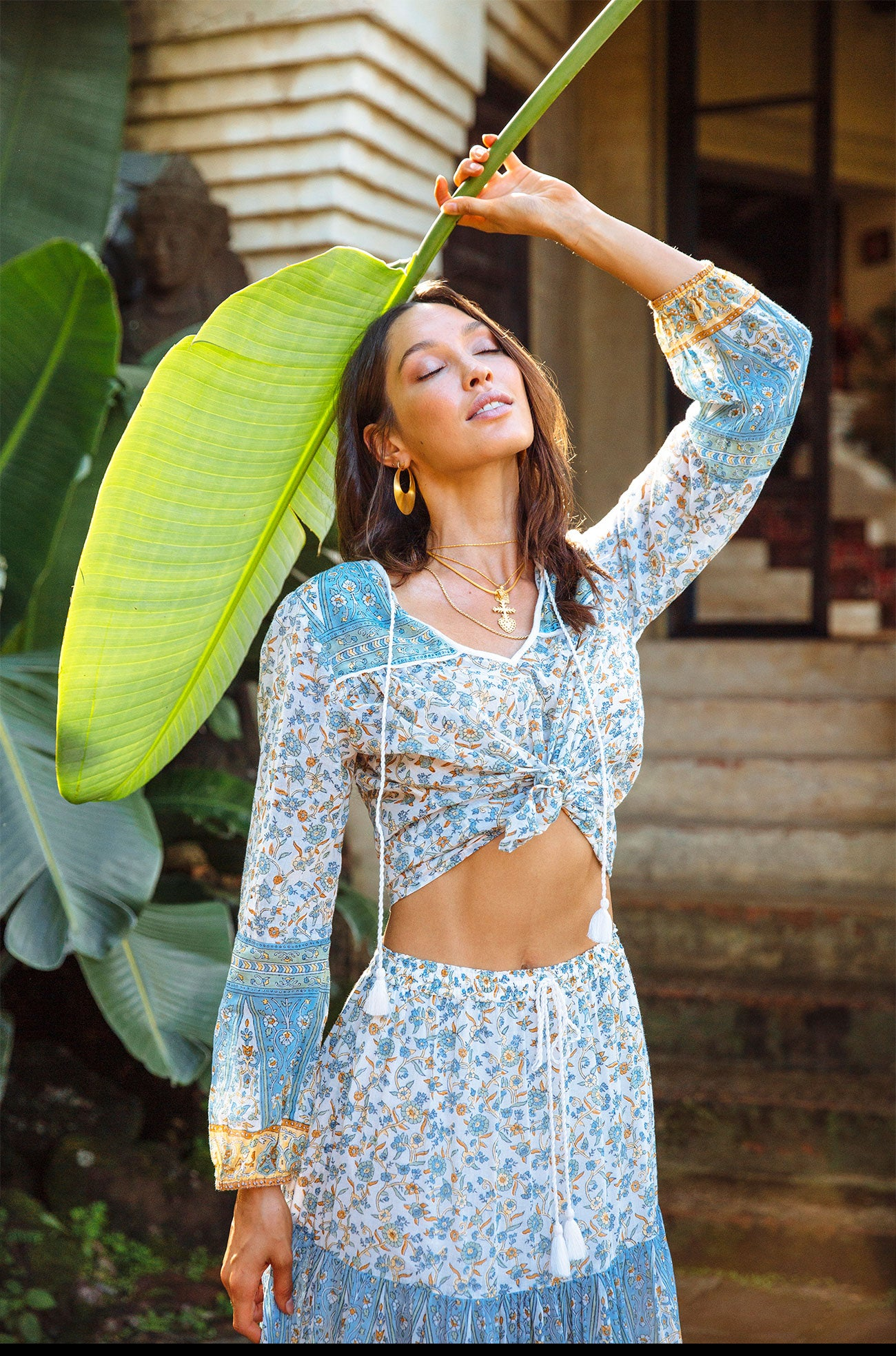 The Indian inspired Lucia Blouse