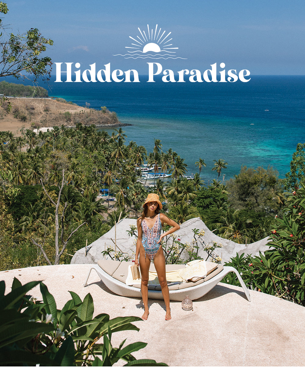 Hidden Paradise the new summer collection from sustainable fashion brand Arnhem