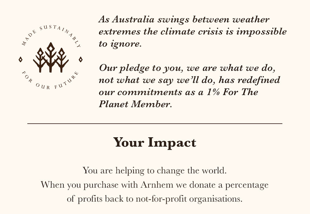Arnhem Clothing donates to fight climate change