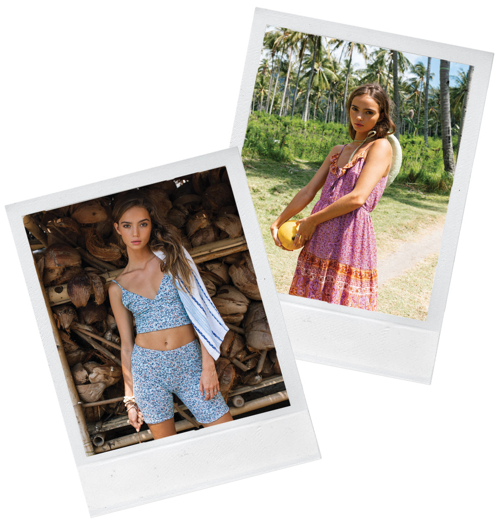 The hot new summer collection from bohemian clothing label Arnhem Byron Bay