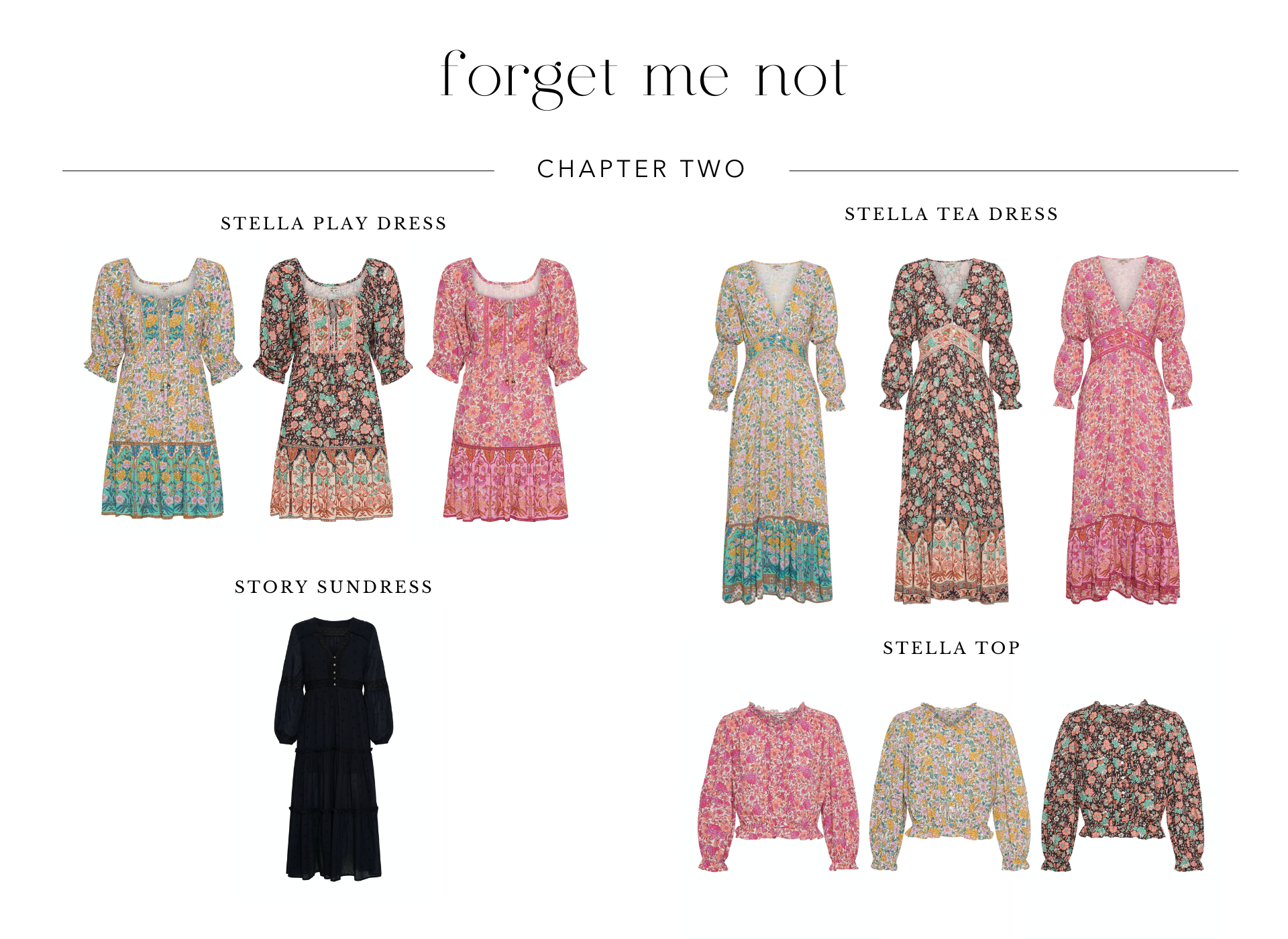 Shop Forget Me Not Chapter Two from Arnhem Sustainable Clothing