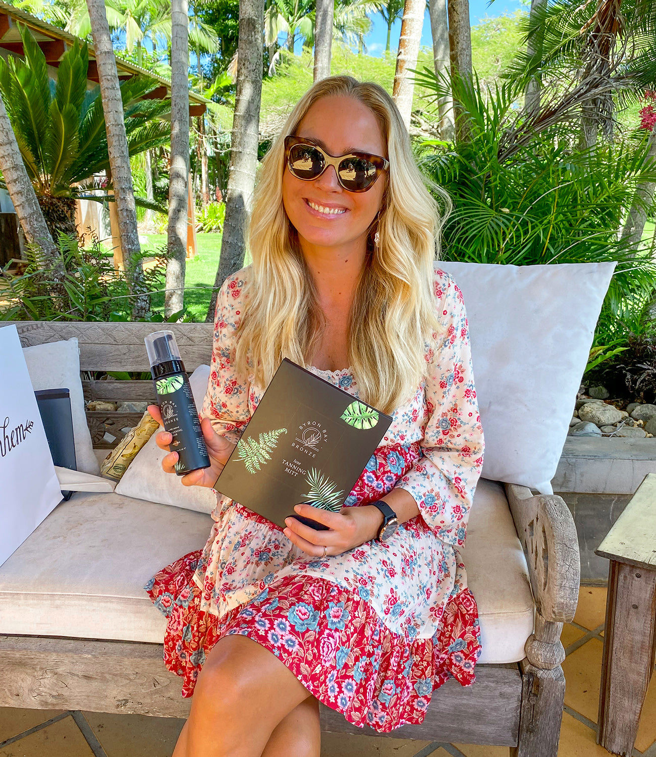 Arnhem's Carrie loving the Byron Bay Bronze products