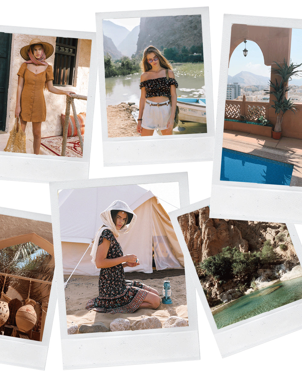 Mirage the summer campaign shot in Oman for Arnhem Clothing Byron Bay