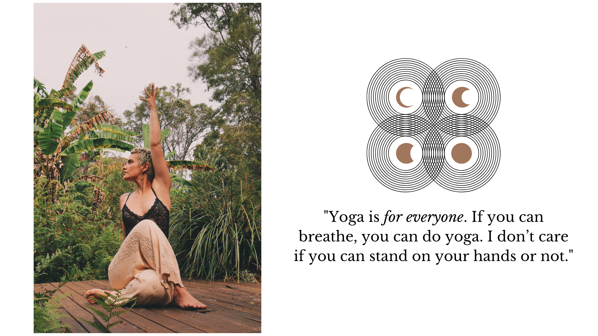 Arnhem interview with Hayley Rose Yoga for World Mental Health Day