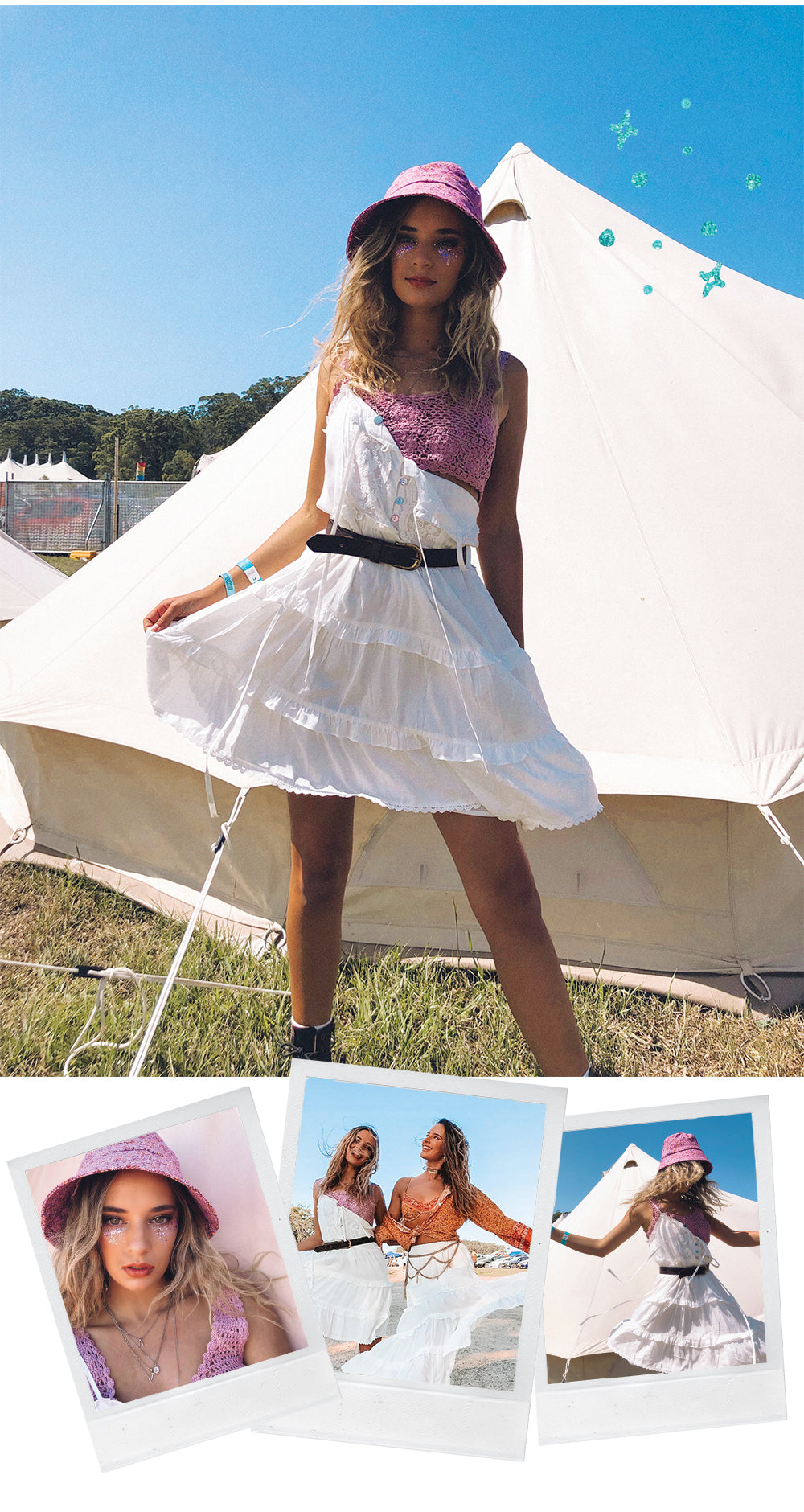 Day 2 of Falls Festival Byron Bay see who wore what