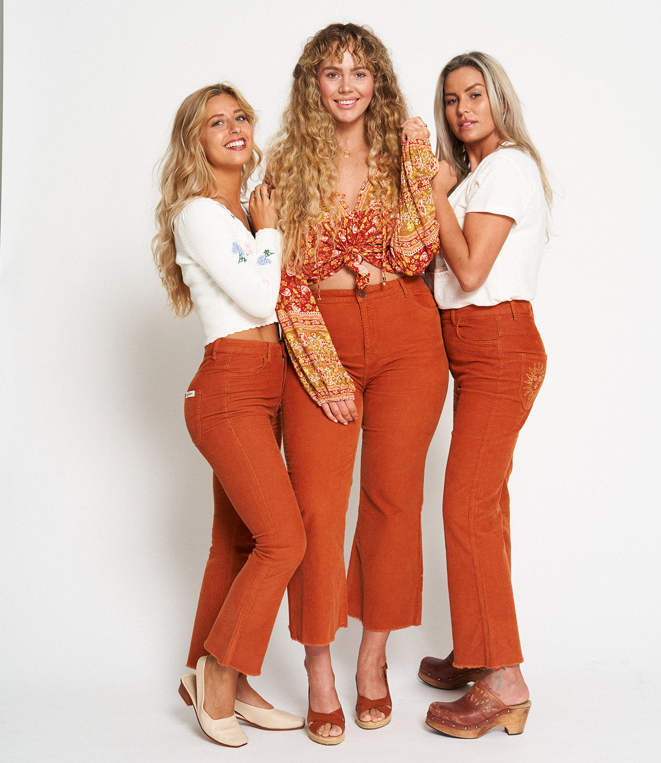 Arnhem Savannah Cord Jeans in Copper perfect for every body shape and size