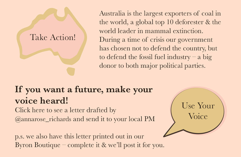 Take action write to your MP and express your concerns about climate change