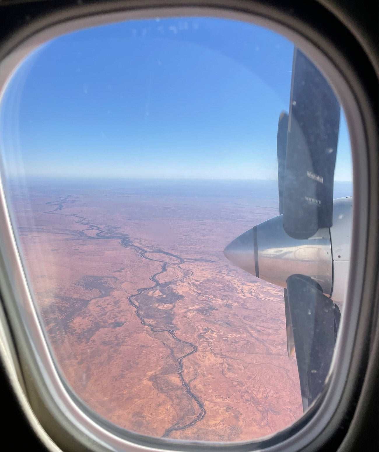 Flying into Broken Hill to visit Mungo National Park and shoot Nomada