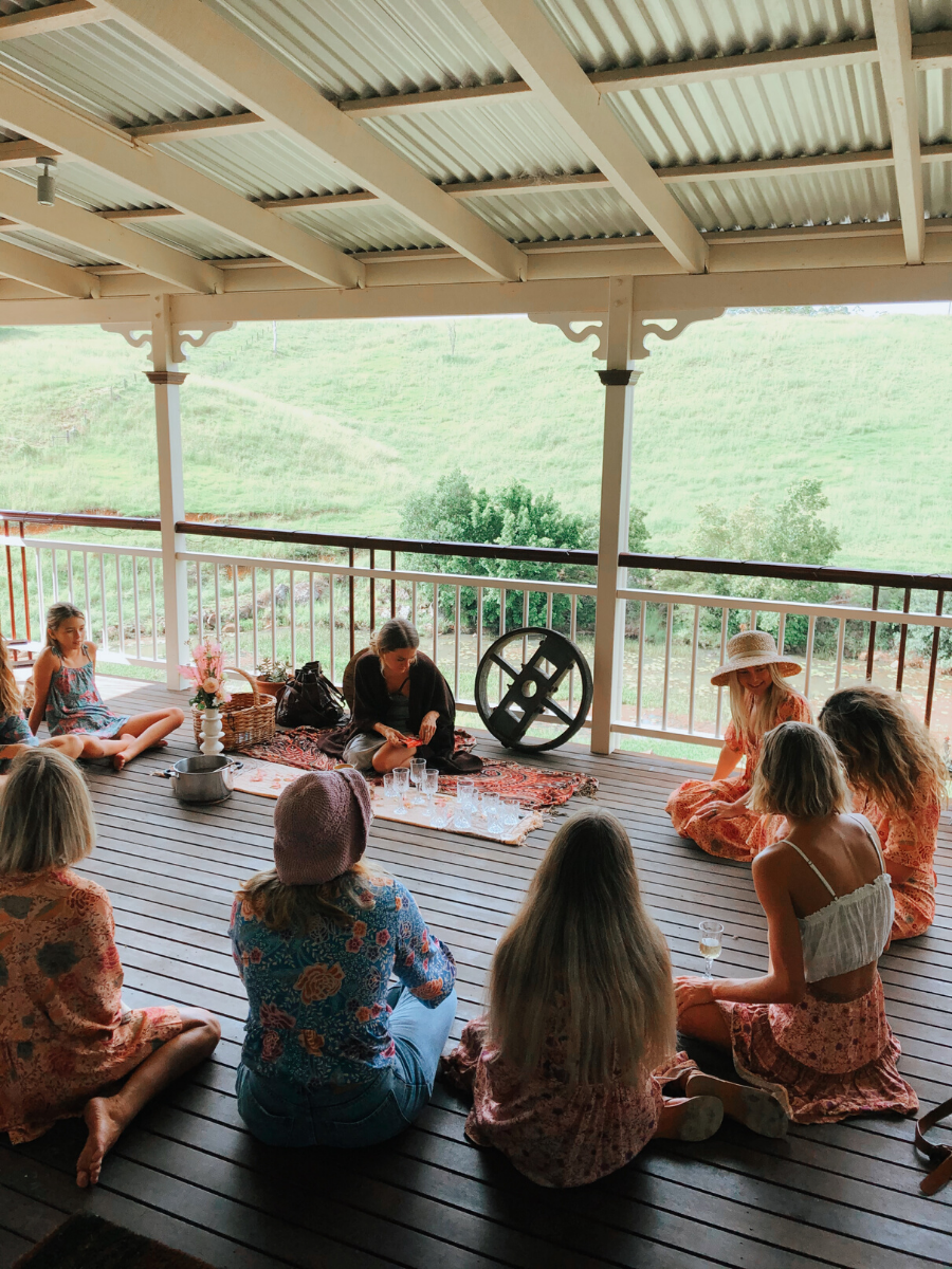 Celebrating IWD 2020 with a Cacao Ceremony in Byron Bay with Arnhem