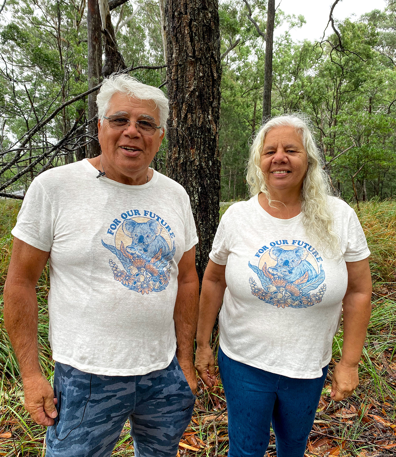 Stop Koala extinction. 100% of profits from the charity tee go to the Great Koala National Park