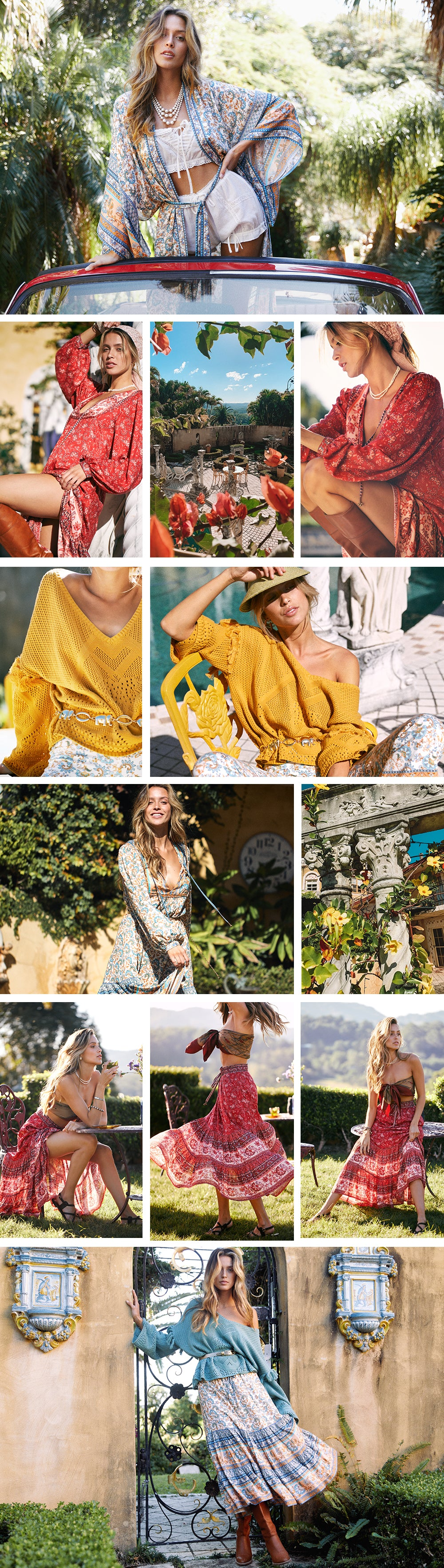 The new Bohemian Clothing Collection L'Amour from Arnhem sustainable fashion brand