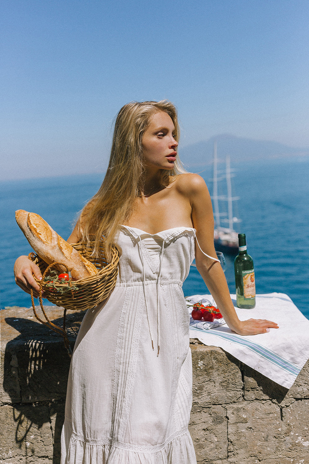 Valentina Sun Dress made from organic cotton made by Arnhem Clothing