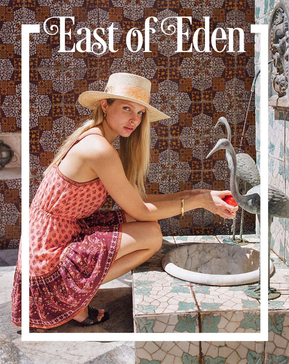 East of Eden the new sustainable fashion collection from Arnhem Byron Bay