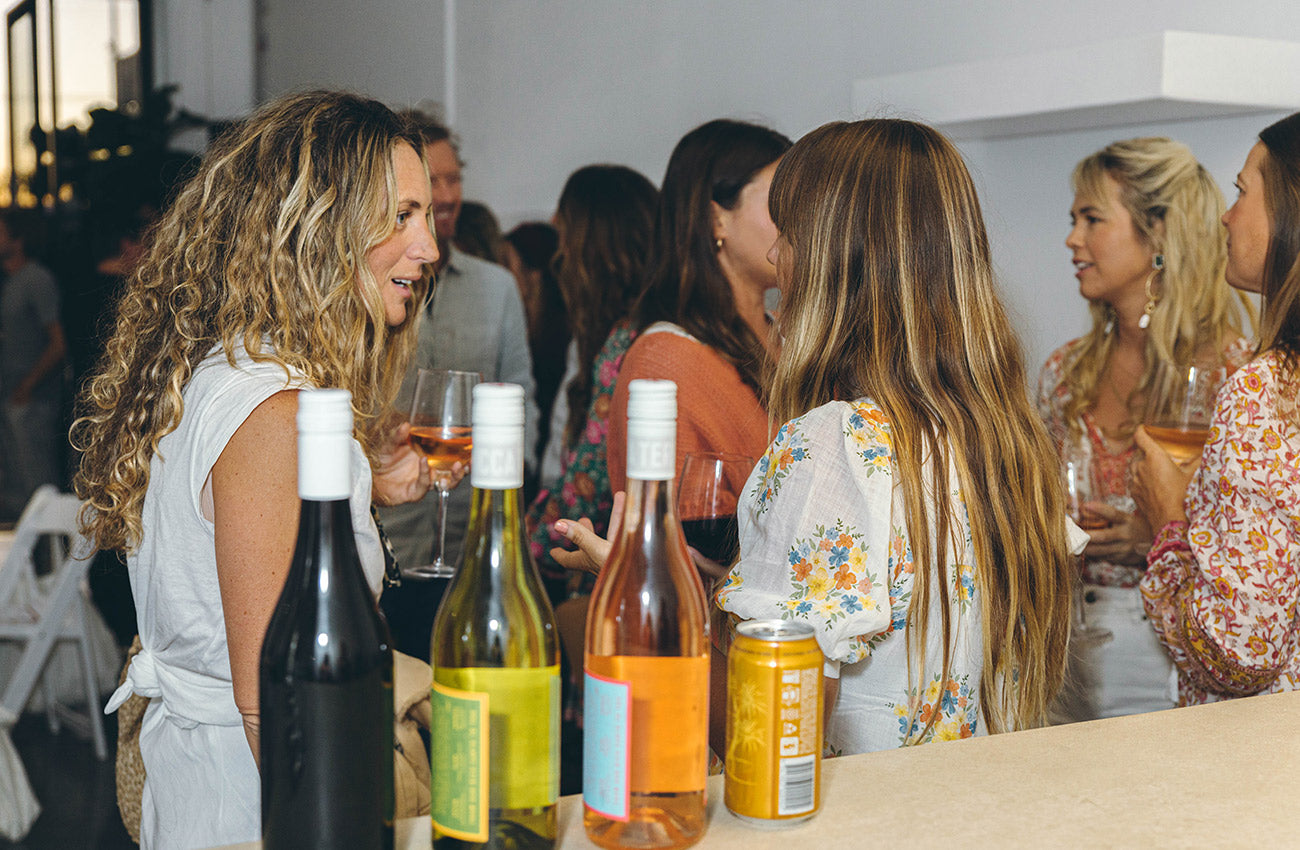 Nicola Figarra at the Arnhem Fashion Revolution Industry Event hosted in Byron Bay
