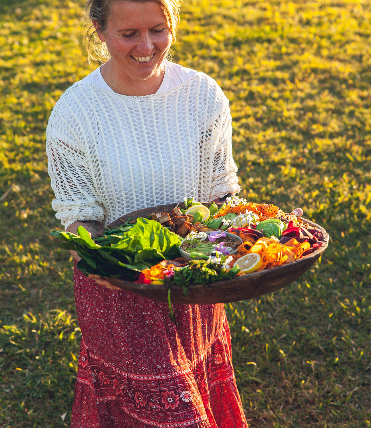 Organic food styling with Sun Kissed Kitchen on the blog at Arnhem