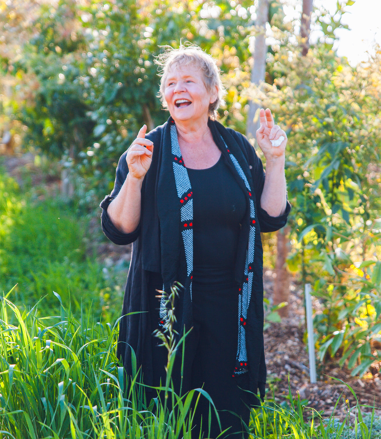 Ella from Ella's Permaculture and Syntropic Farm West Tweed