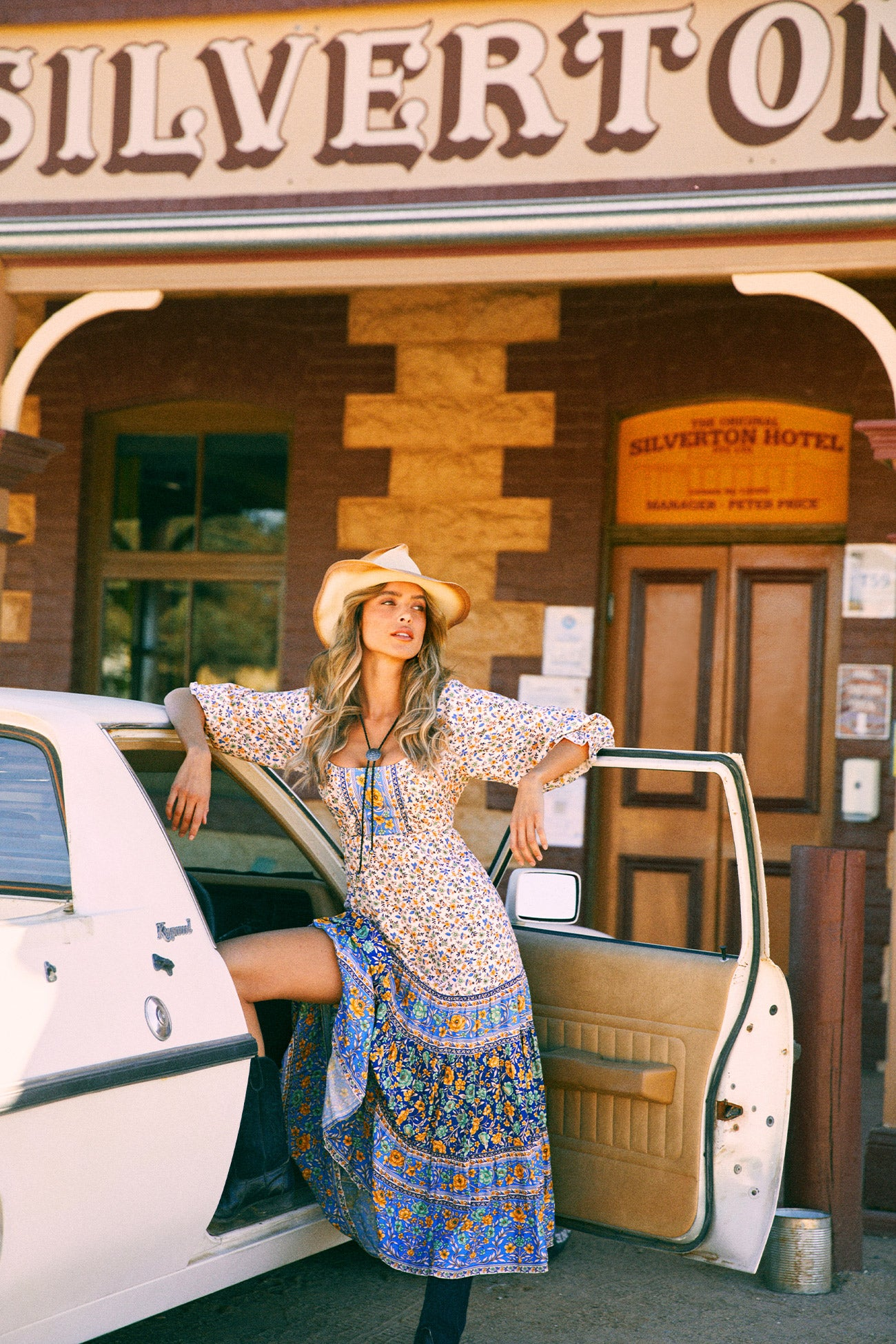 Our Nomada campaign was shot at the Silverton Hotel near Broken Hill