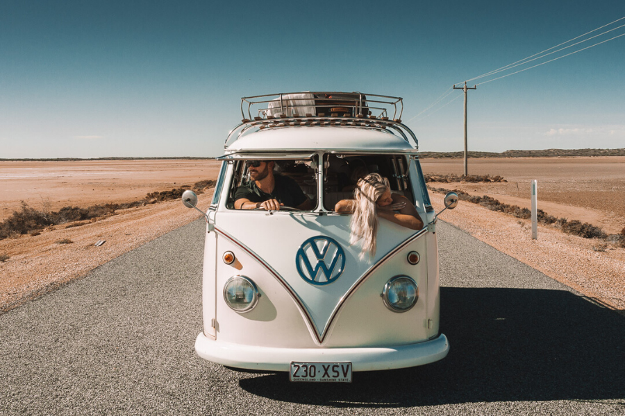 Travelling with kids around Australia in a campervan on the blog at Arnhem
