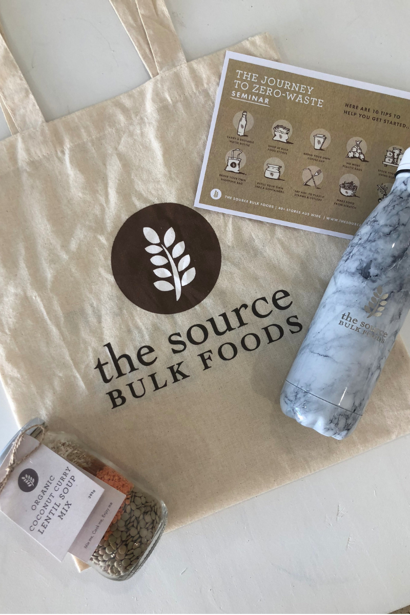 Zero Waste Workshops at Arnhem Clothing Byron Bay with The Source
