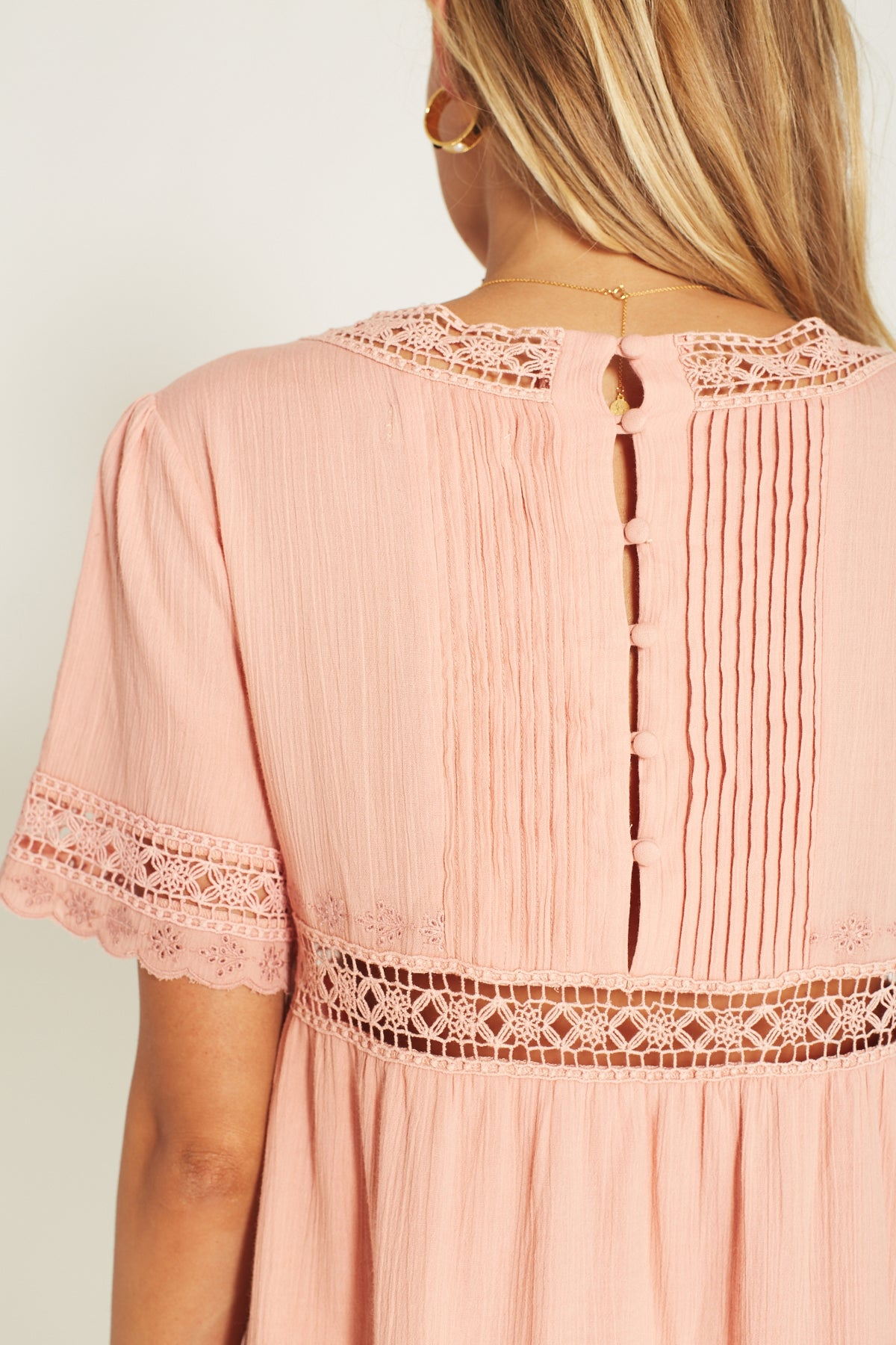Melody Mini Dress Blush