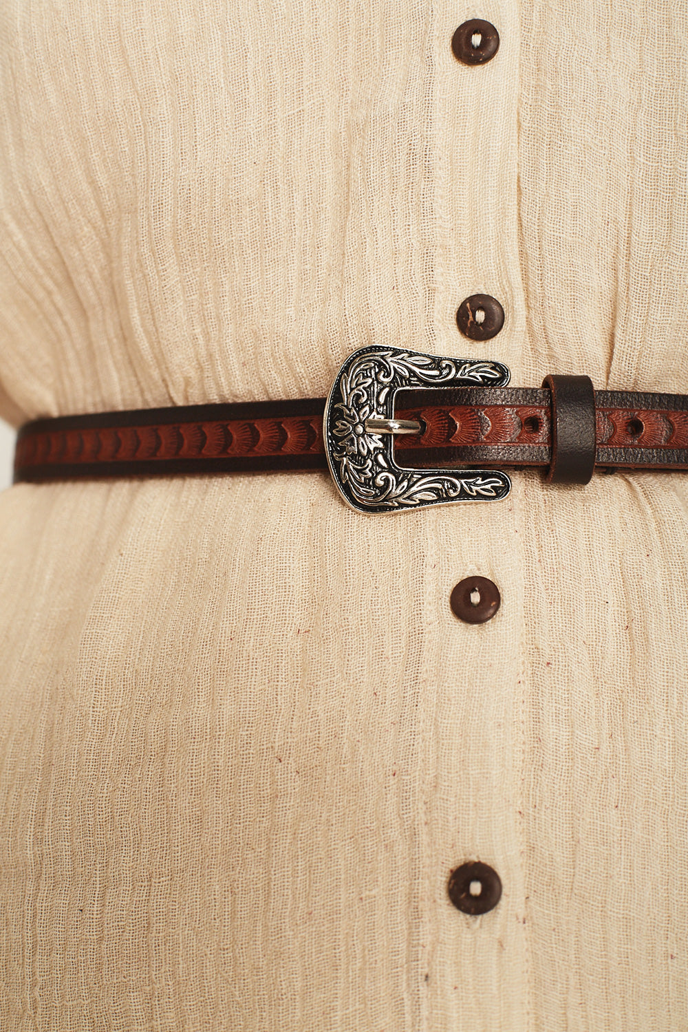 Meadow Leather Belt