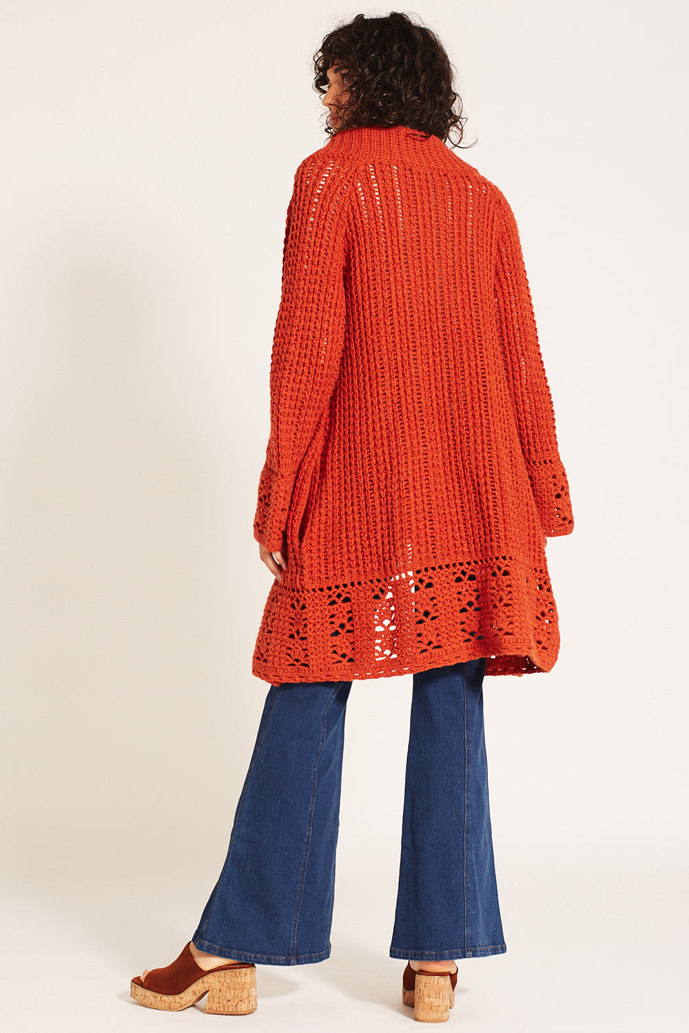 Jules Cardigan in Orange