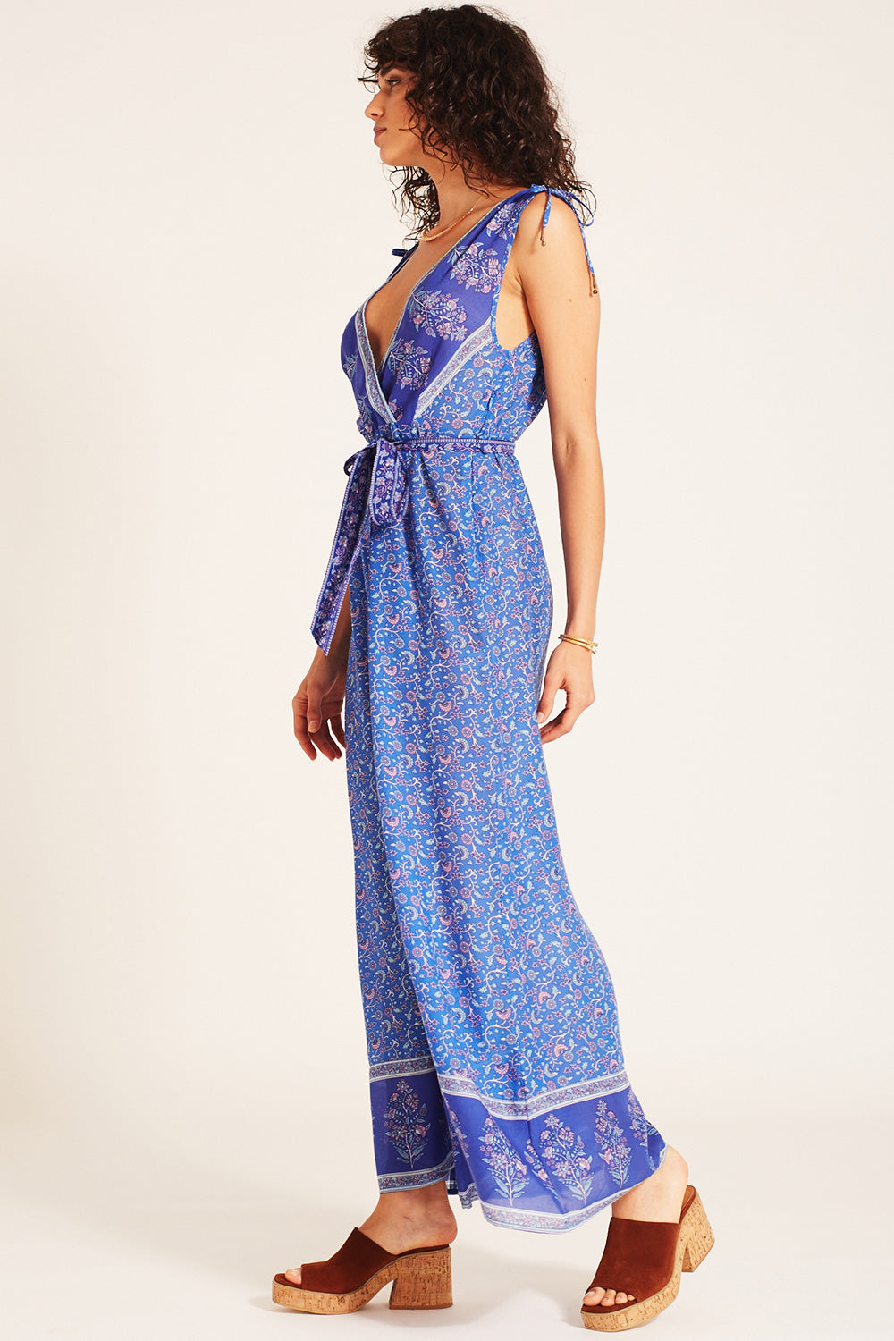 Wisteria Jumpsuit in Moonlight Blue