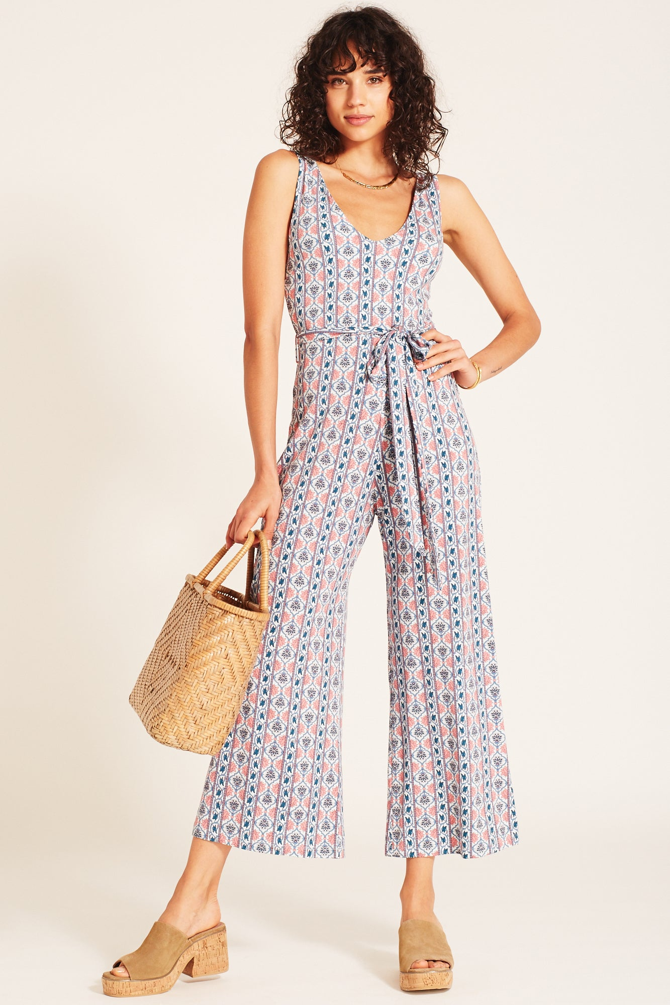 Harper Jumpsuit in Sky