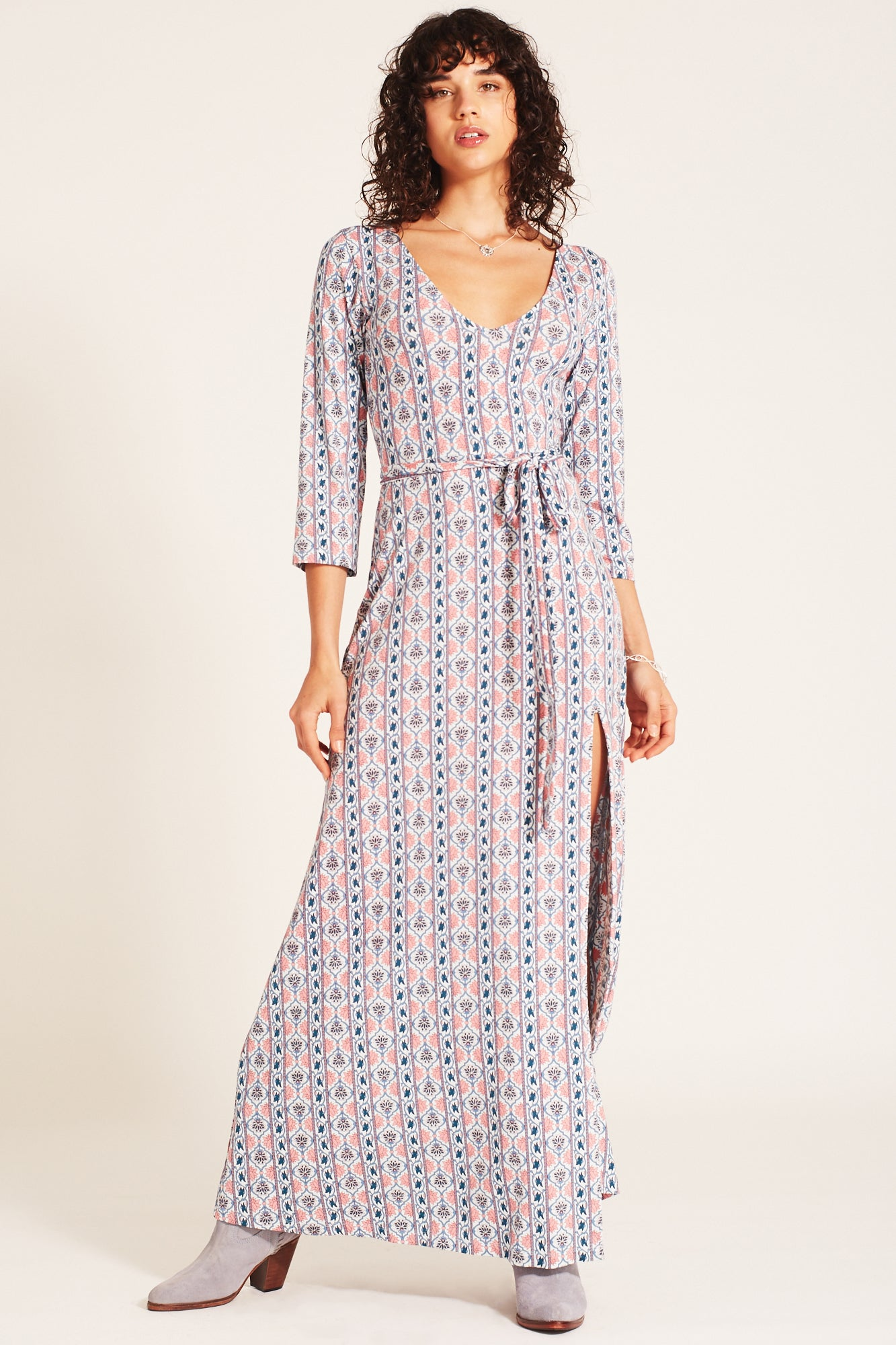 Harper Maxi Dress in Sky