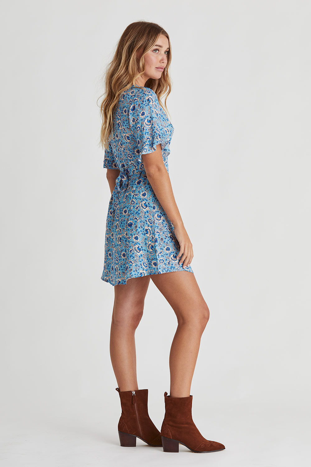 Esmee Mini Dress in Lakeside