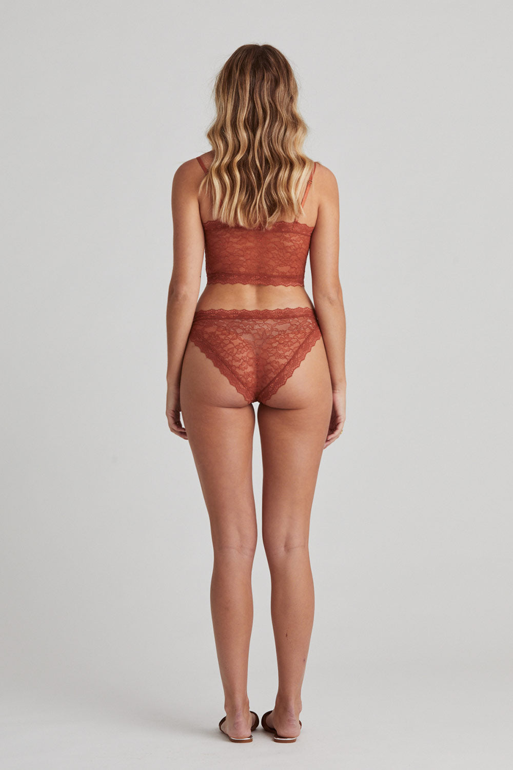 Faith Knickers in Rust