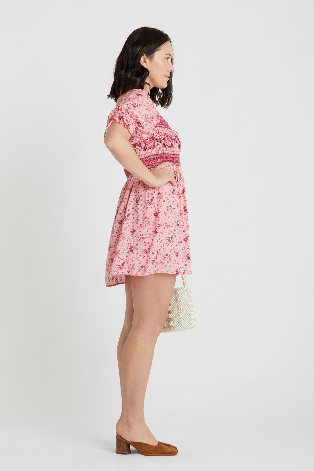 Flora Shirred Playdress in Confetti
